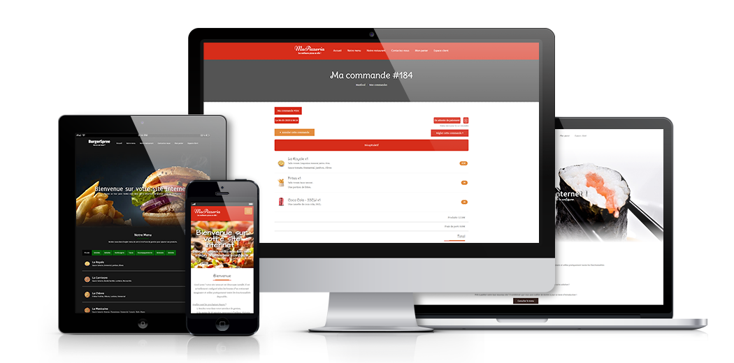 Start accepting online orders in your restaurant today. Free 30 days trial !